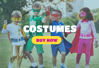 Excellent range of costumes & disguises