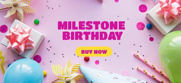 Milestone Party Supplies & Decorations