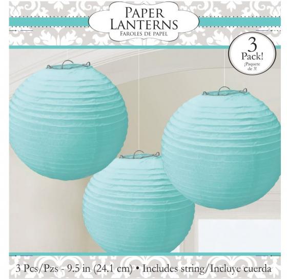 Lanterns Robins-egg Blue 9 1/2' (24cm)