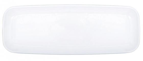 Long Platter 17x46cm White