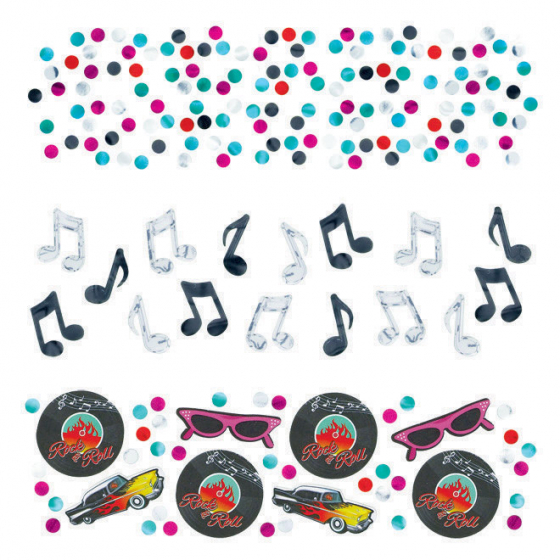 Classic 50's Value Pack Confetti 34g - Paper & Foil (Contains 3 different types)