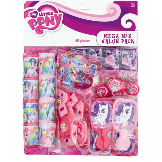 My Little Pony Friendship Mega Mix Value Pack 11 1/2' x 9' (29cm x 23cm)Pkg Size