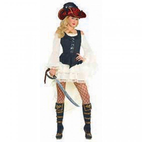 Pirate Vest Womens Size: Adult Standard