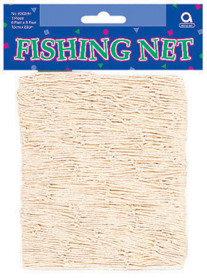 Fish Net Natural 6' x 8' (1.8m x 2.4m)