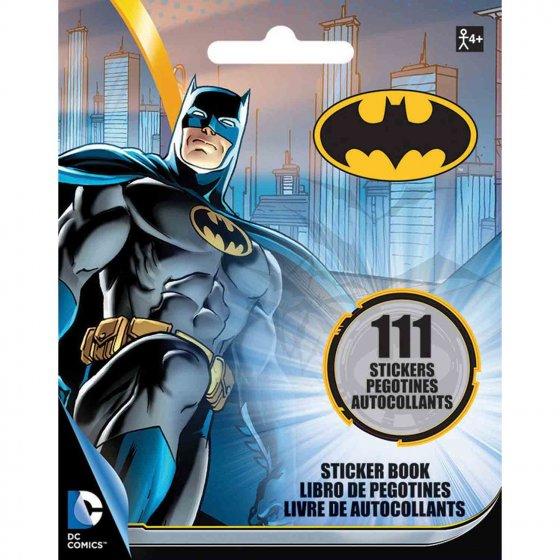 Sticker Booklet Batman 5' x 4' (13cm x 10cm)