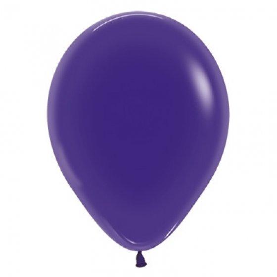 30cm Crystal Purple Violet Latex Balloons 100PK