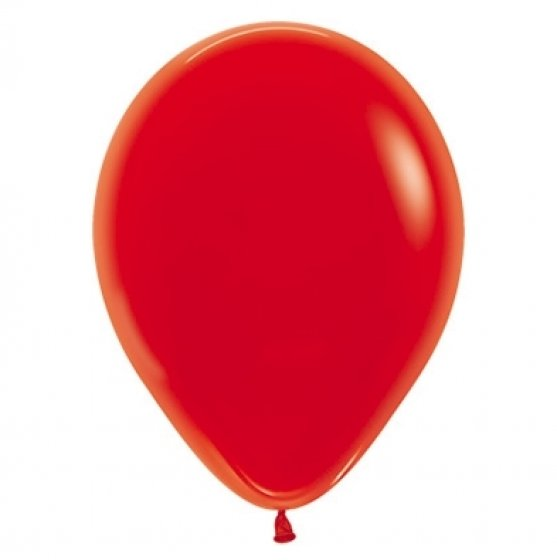 30cm Crystal Red Latex Balloons 100PK