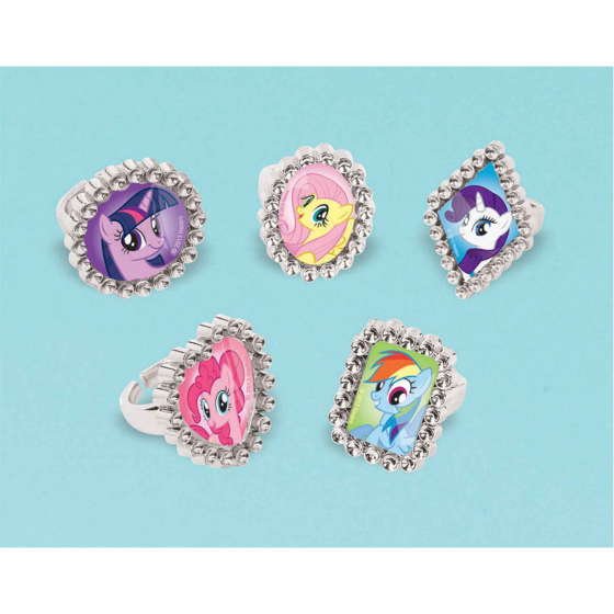 My Little Pony Friendship Jewel Ring Favor Assorted Designs