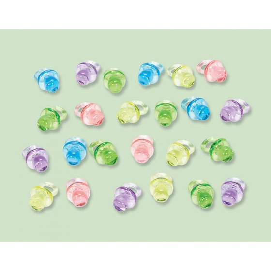 Baby Shower Mini Pacifier Favors - Neutral