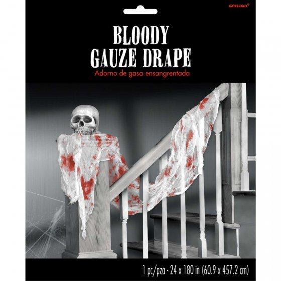 Bloody Gauze Drape Decoration 60cm x 4.57m