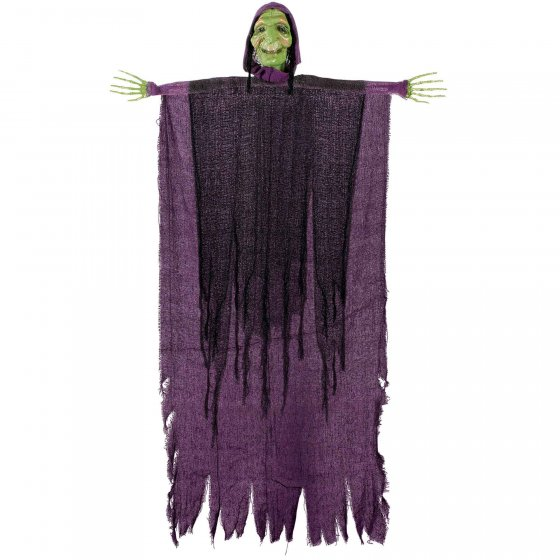 Scary Witch Fabric & Plastic 1.21m