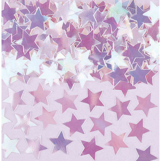 Mini Stars Confetti 7g Iridescent
