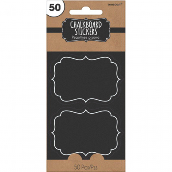 Stickers Chalkboard Paper