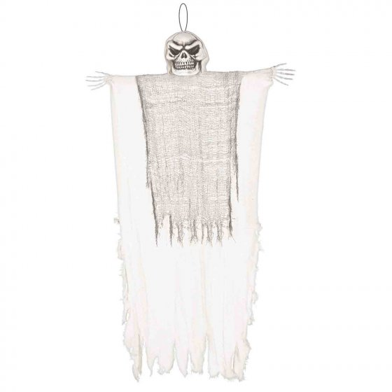 Hanging White Reaper Decoration - Medium 1.21m