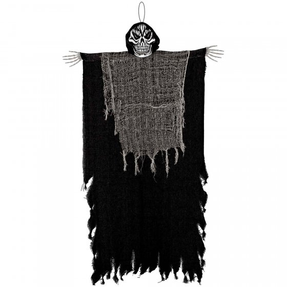 Hanging Black Reaper Decoration - Medium 1.21m