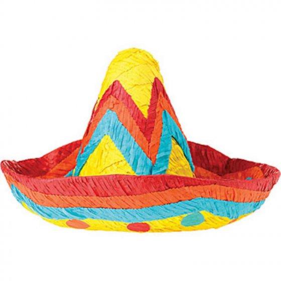 Sombrero Pinata 45.72cm x 22.86cm x 34.29cm