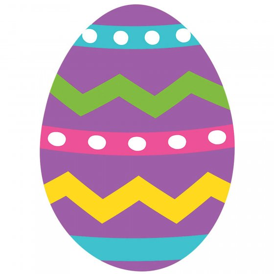Easter Egg Cutout 2-Sided Design 15' (38.1cm)
