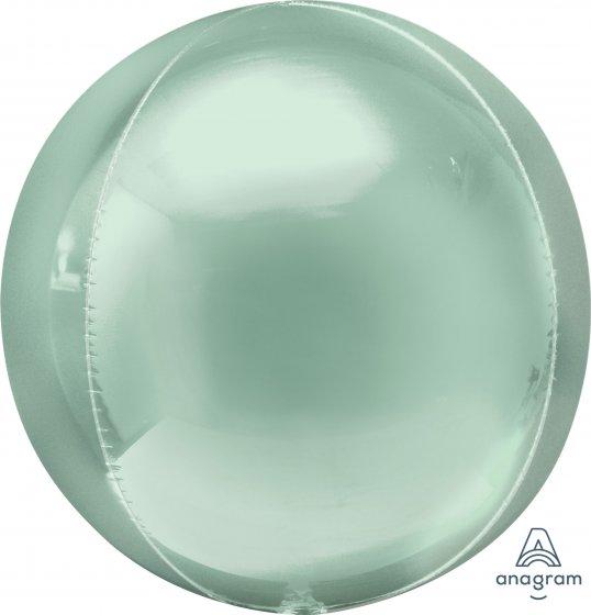 Orbz Mint Green 38cm x 40cm Self Sealing Foil Balloon